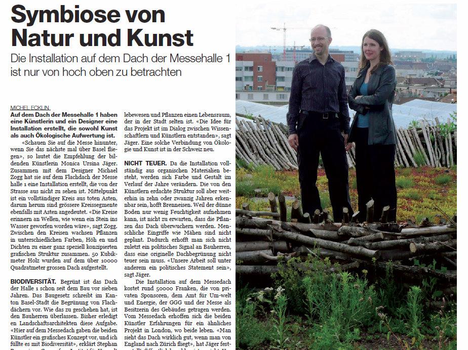 Newspaper Article BAZ