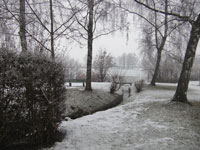 Winteransicht Moossee